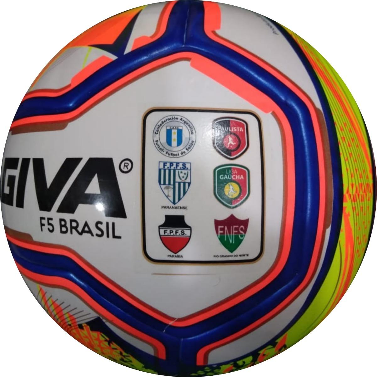 4b321f3c332e8 bola futsal kagiva f5 brasil pro liga e federação 2019. Carregando zoom.