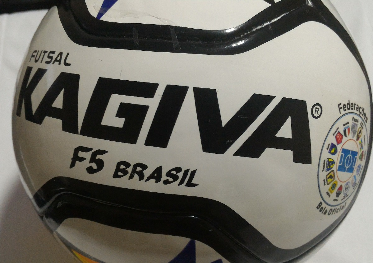 178245f395688 bola futsal kagiva f5 pro brasil - federações 2018. Carregando zoom.