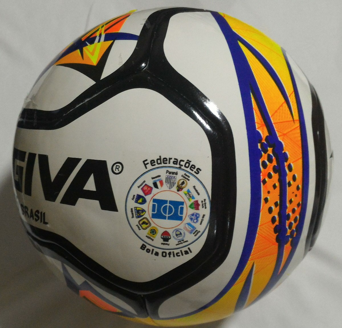 01dd14276e457 bola futsal kagiva f5 pro brasil - federações 2018. Carregando zoom.