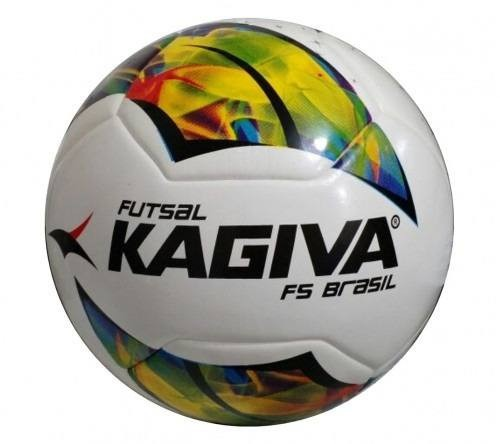 Bola Futsal Kagiva F5 Pro Brasil - Liga Futsal Paulista 2016 - R ... b35c119b6885f