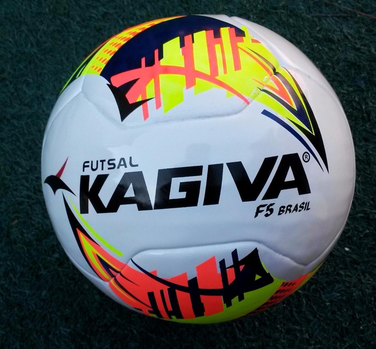 99f6740b17 Bola De Futsal Kagiva F5 Brasil Pro Da Liga Futsal 2017 - R  119