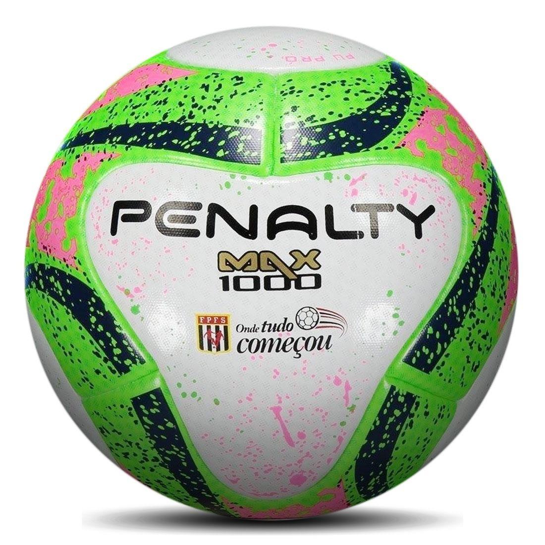 bd87acc10 bola futsal max 1000 aprovada fifa e f.p.f.s.. Carregando zoom.