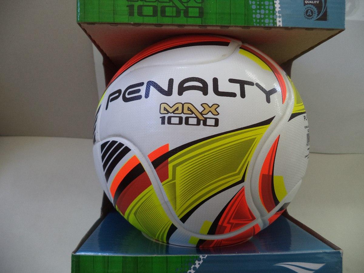 557fdf0865ea6 Bola Futsal Max 1000 Iv Penalty (profissional). - R  199