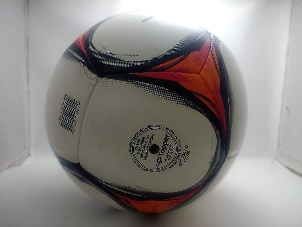 ae545fd8cf4e1 bola futsal oficial topper ultra 8 costurada à mão. Carregando zoom.