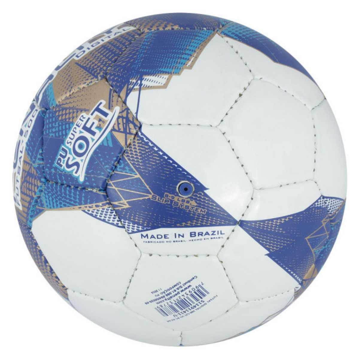 bola futsal penalty digital 500 com costura à mão 7 - branco. Carregando  zoom... bola futsal penalty. Carregando zoom. 4e1d5435808e6