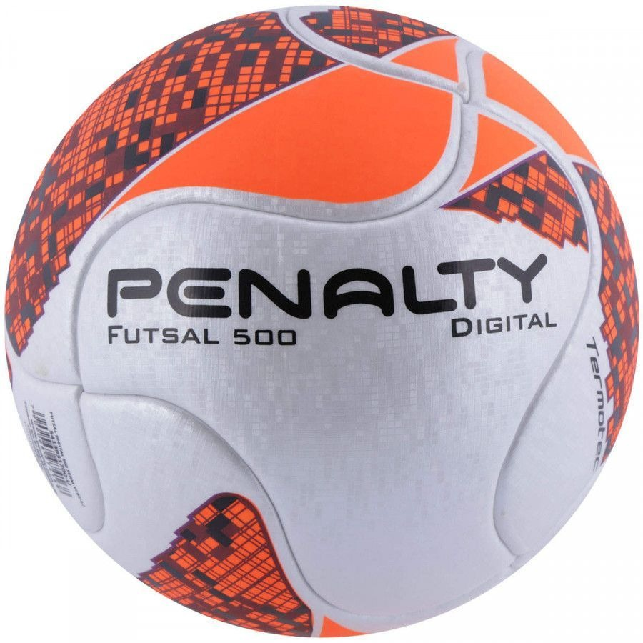 27734ff033fa6 Bola Futsal Digital 500 Termotec - Penalty - R  129