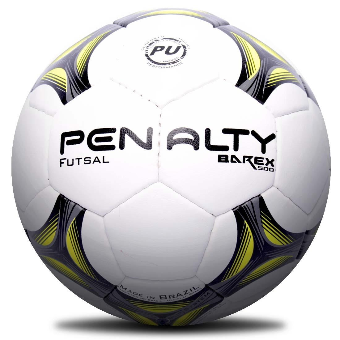 Bola Futsal Penalty Barex 500 Vii Costurada - R  85 e225d366f1399