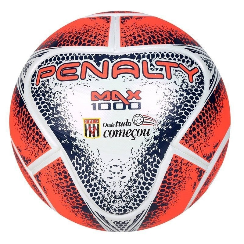 413de432f2 Bola Futsal Penalty Max 1000 Oficial Fifa 2018 - R  199