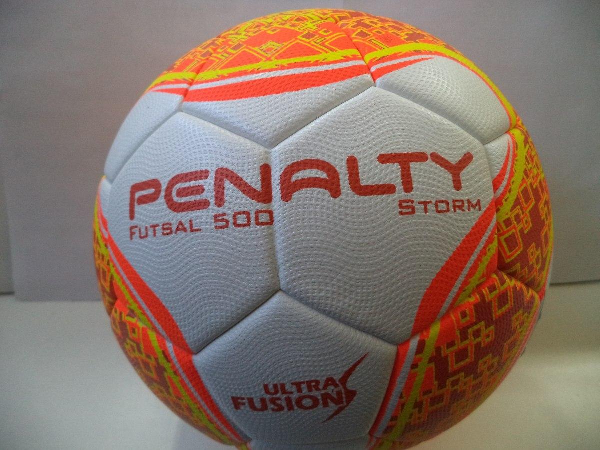 947649d1c0 Bola Futsal 500 Penalty Storm Sem Costura. - R  89