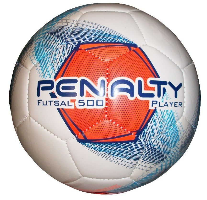 ac4def9b67 Bola De Futsal Player 500 Viii Costurada - Penalty - R  84