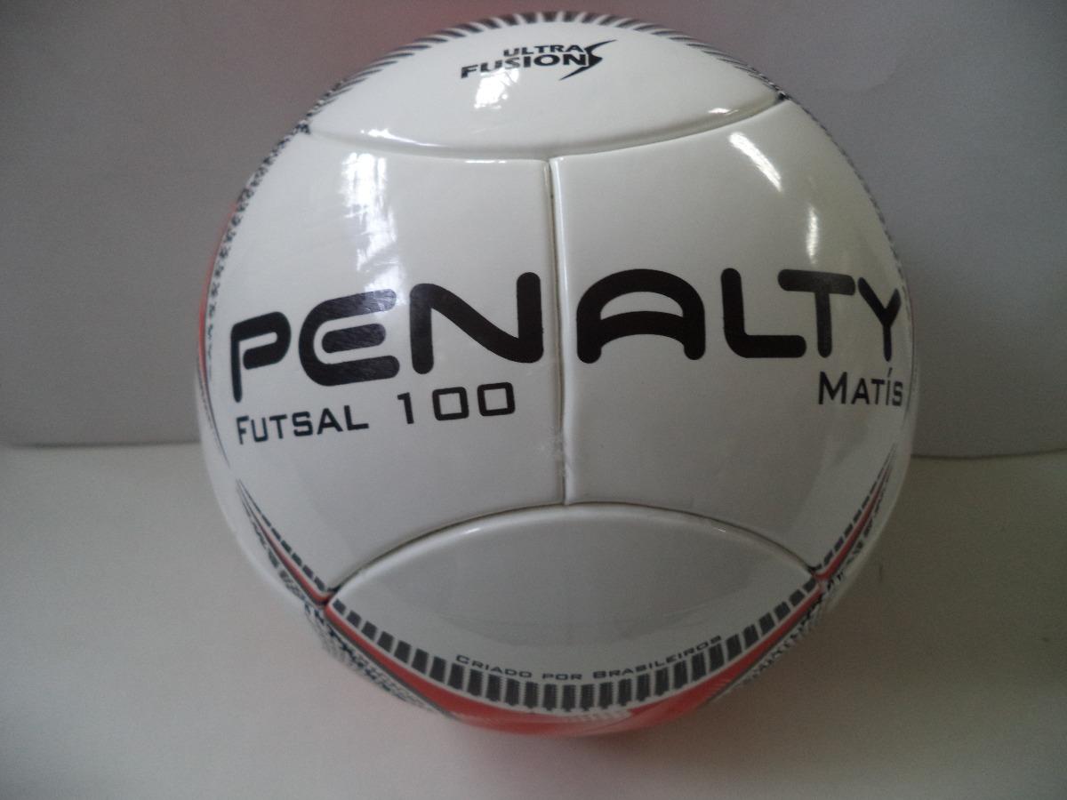 8557368f43 Bola Futsal 100 Penalty Matís Infantil. - R  88