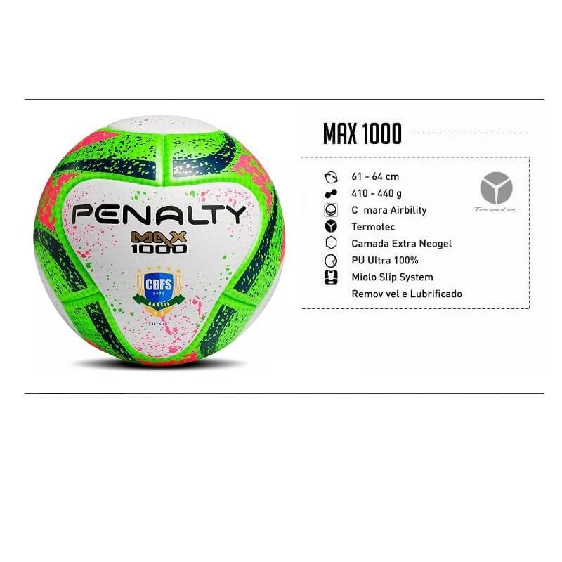87f5ce3558 Carregando zoom... futsal penalty bola. Carregando zoom... bola de futsal  max 1000 penalty termotec oficial fifa cbfs