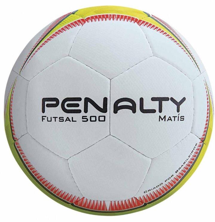 Bola Futsal Penalty Matis 500 Costurada - R  120 58a1e96ac6860