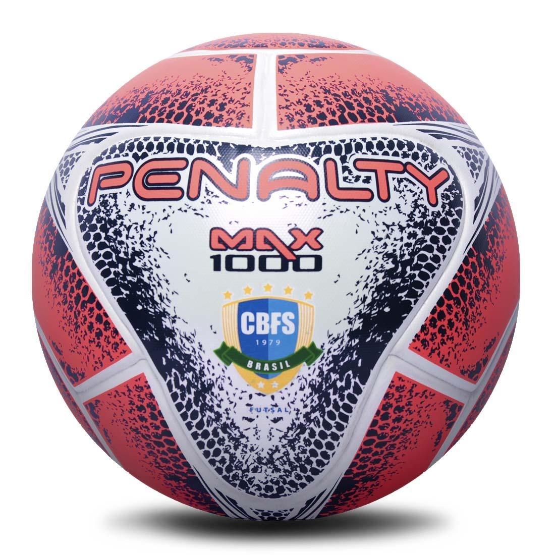 3c8904cf71 bola futsal penalty max 1000 aprovada fifa 2018 na caixa. Carregando zoom.