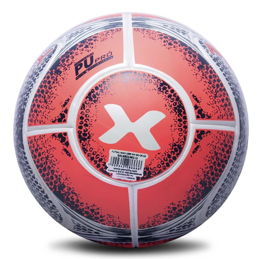 29f96d8f1bb38 bola futsal penalty max 1000 aprovada fifa 2018 na caixa. Carregando zoom.