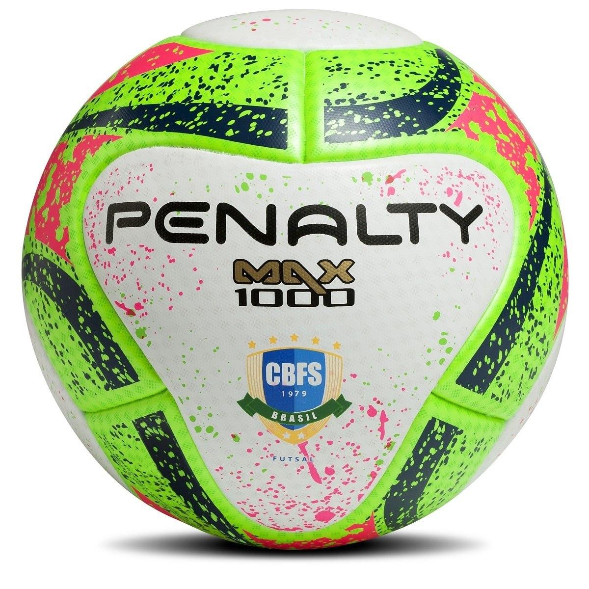 a0ecf0672 bola futsal penalty max 1000 aprovada fifa termotec 2018. Carregando zoom.