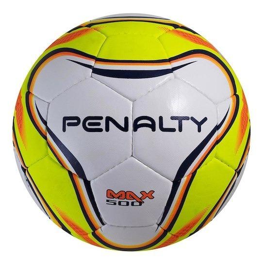 fd6a3be7ef7f0 Bola Futsal Penalty Max 500 Costurada Original 1magnus - R  139