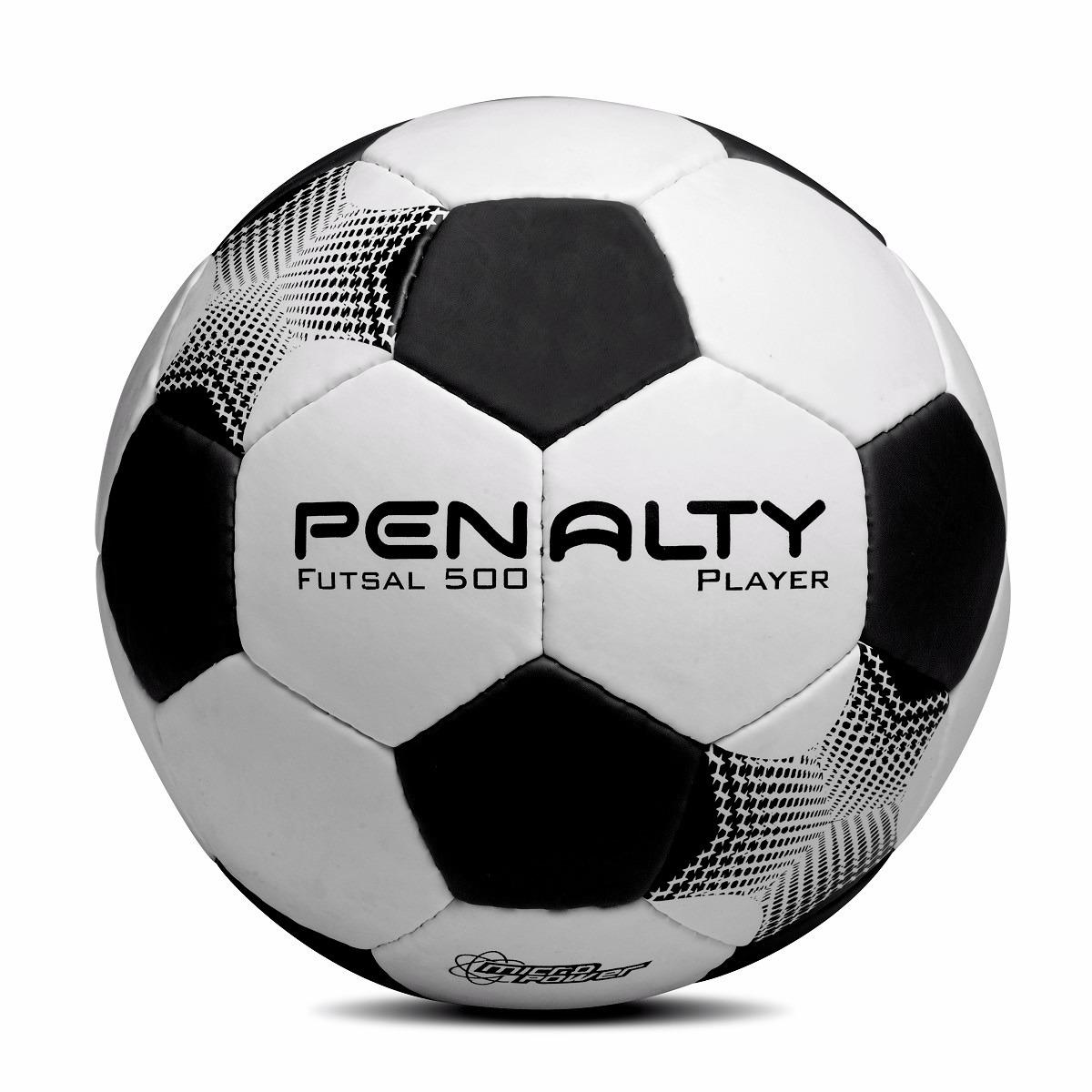 74efad20ce689 Bola Futsal Penalty Player Futebol De Salão Costurada A Mão - R  69 ...