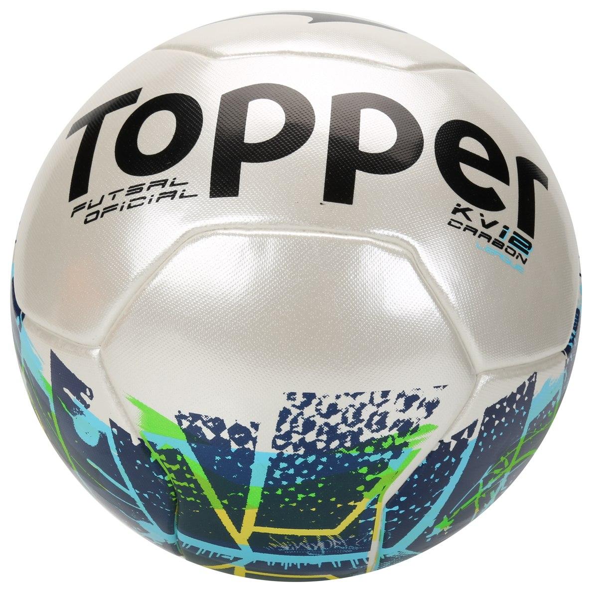 31d8456050 Bola Futsal Topper Kv Carbon League 2 - R  199