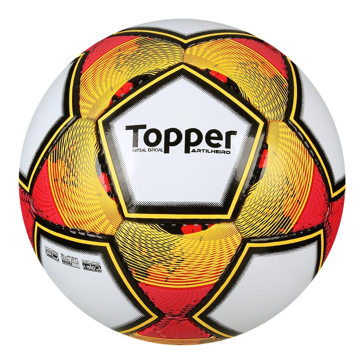 2d5168964f bola futsal topper artilheiro super resistente. Carregando zoom.