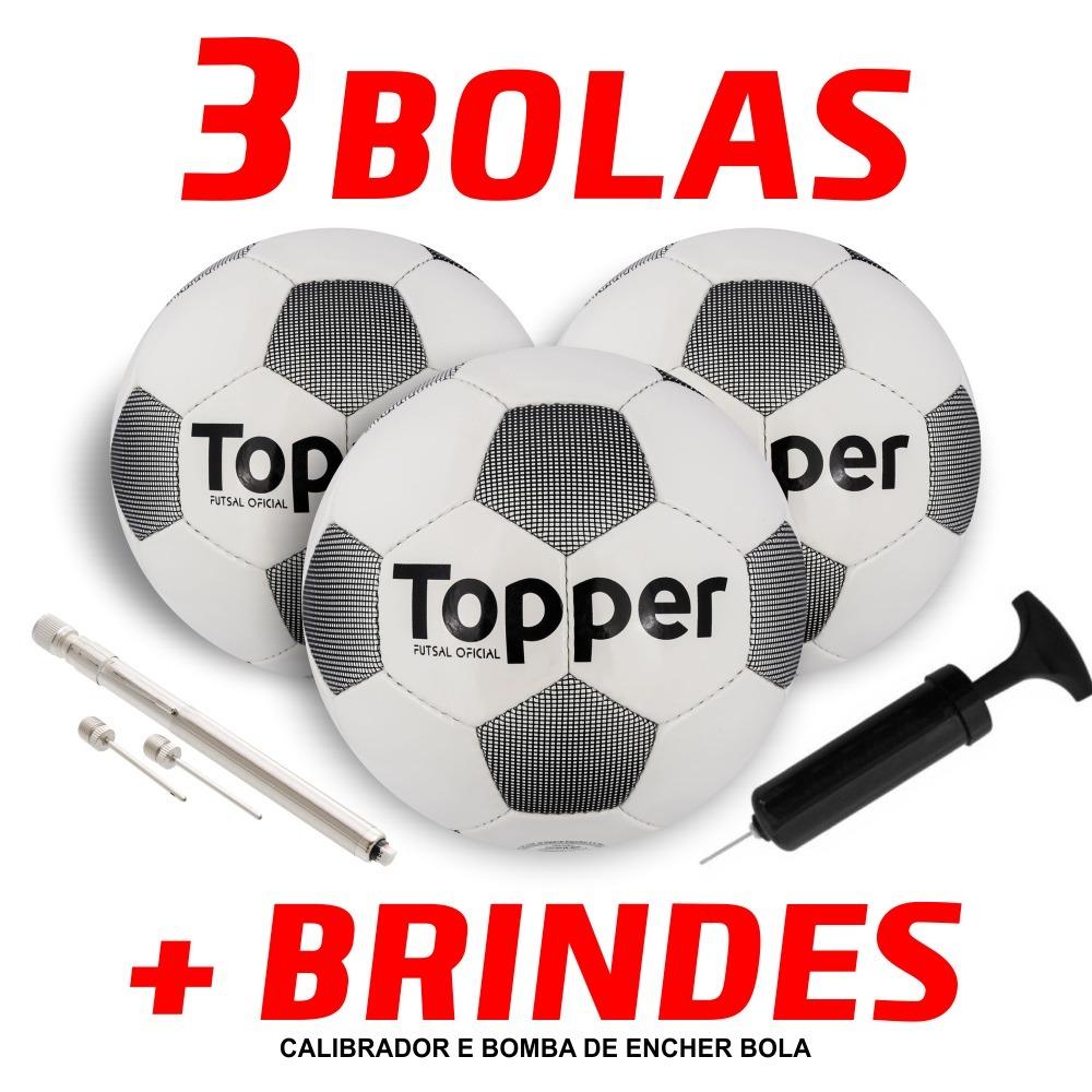 bola futsal topper extreme 4 - caixa com 3 unid + brindes. Carregando zoom. 456c4636efcdd
