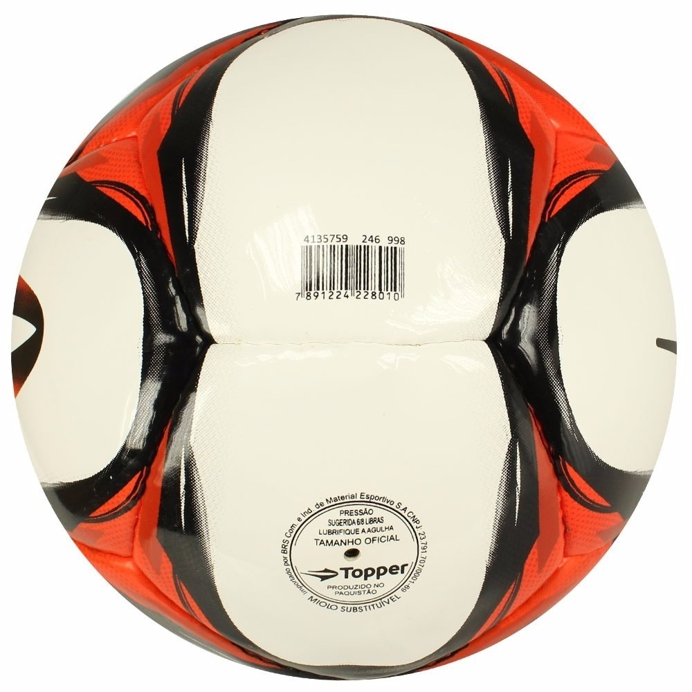 cf3a6225ea bola futsal topper ultra viii 8 salao costura mão original. Carregando zoom.