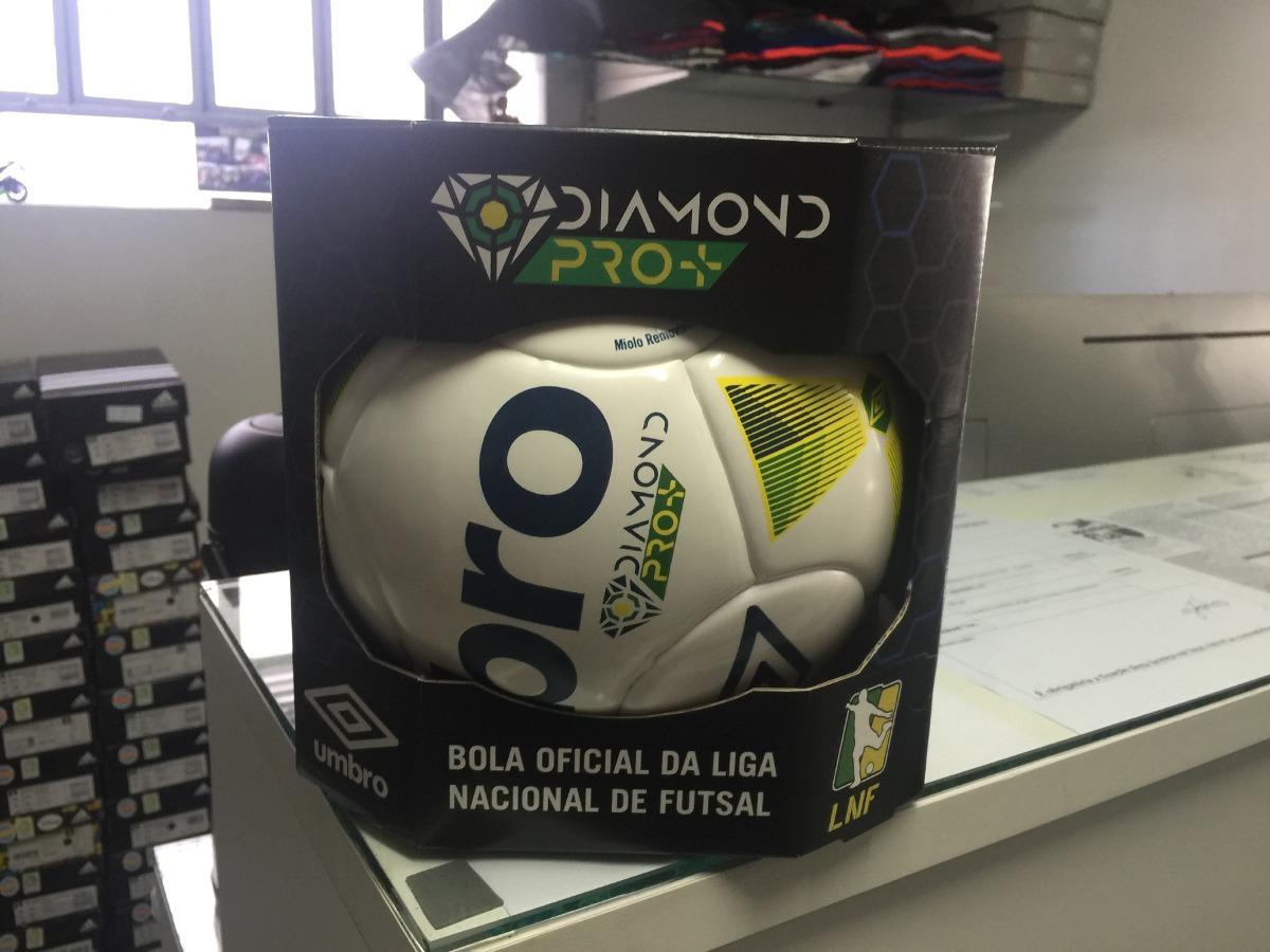 ef98b0aea48d3 Bola Futsal Umbro Diamond Pro+ - Lnf - Frete Grátis - R  160