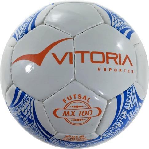 37de27fcb6 Bola Futsal Vitória Oficial Costurada Sub 11 Maxi 100 Mirim - R  54 ...