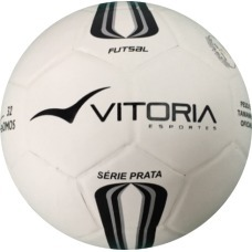 322074a0dd Bola Futsal Vitória Oficial Série Prata Max 100 Mirim Sub 11 - R  47 ...