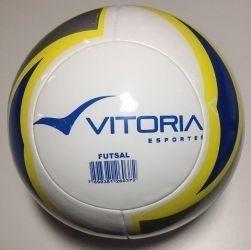 Bola Futsal Vitoria Oficial Termofusion 8 Gomos - R  104 19de0ebbc72bc