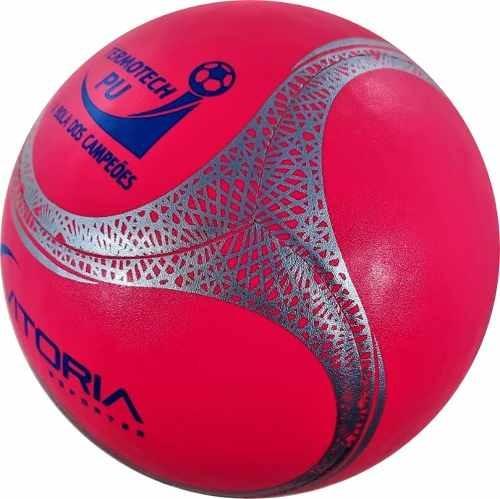 86d8607e31 Bola Futsal Vitoria Oficial Termotec Feminina + Bomba - R  74