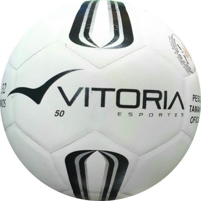 6b4b1edc13 Bola Futsal Vitória Prata Oficial Sub 9 Maxi 50 (pré-mirim) - R  49 ...