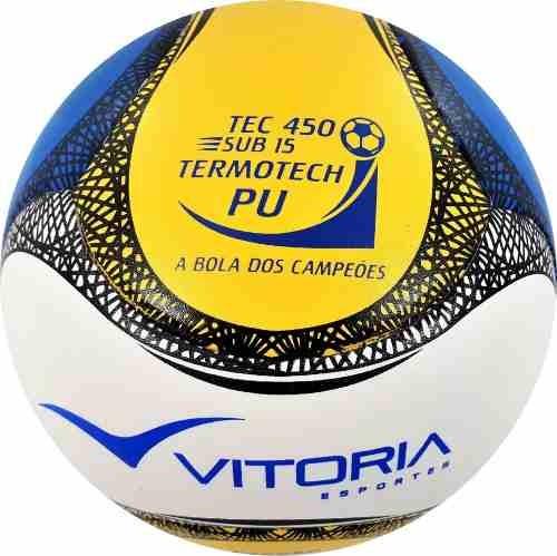 61cca4be89 Bola Futsal Vitoria Termotec Sub 15 Kit Com 3 (13 A 15 Anos) - R ...