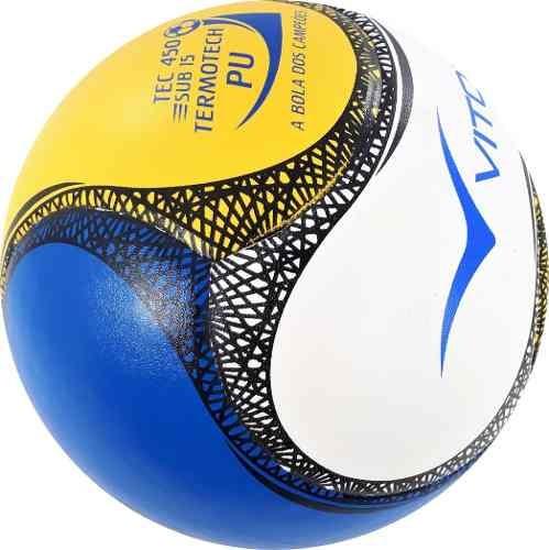 b93ec1cabf632 Bola Futsal Vitoria Termotec Sub 15 Pu 13 A 15 Anos Max 450 - R  64 ...