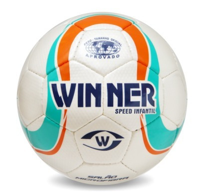 Bola Futsal Winner Speed Infantil - Sub 13 - Costurada - R  69 236c359f58cad