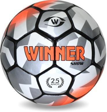 Bola Futsal Winner Show Adulto - Costurada - Oficial - R  79 84db0c9a2eff5