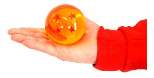 bola gigante dragon ball z. esfera de cuatro estrellas 7.8cm