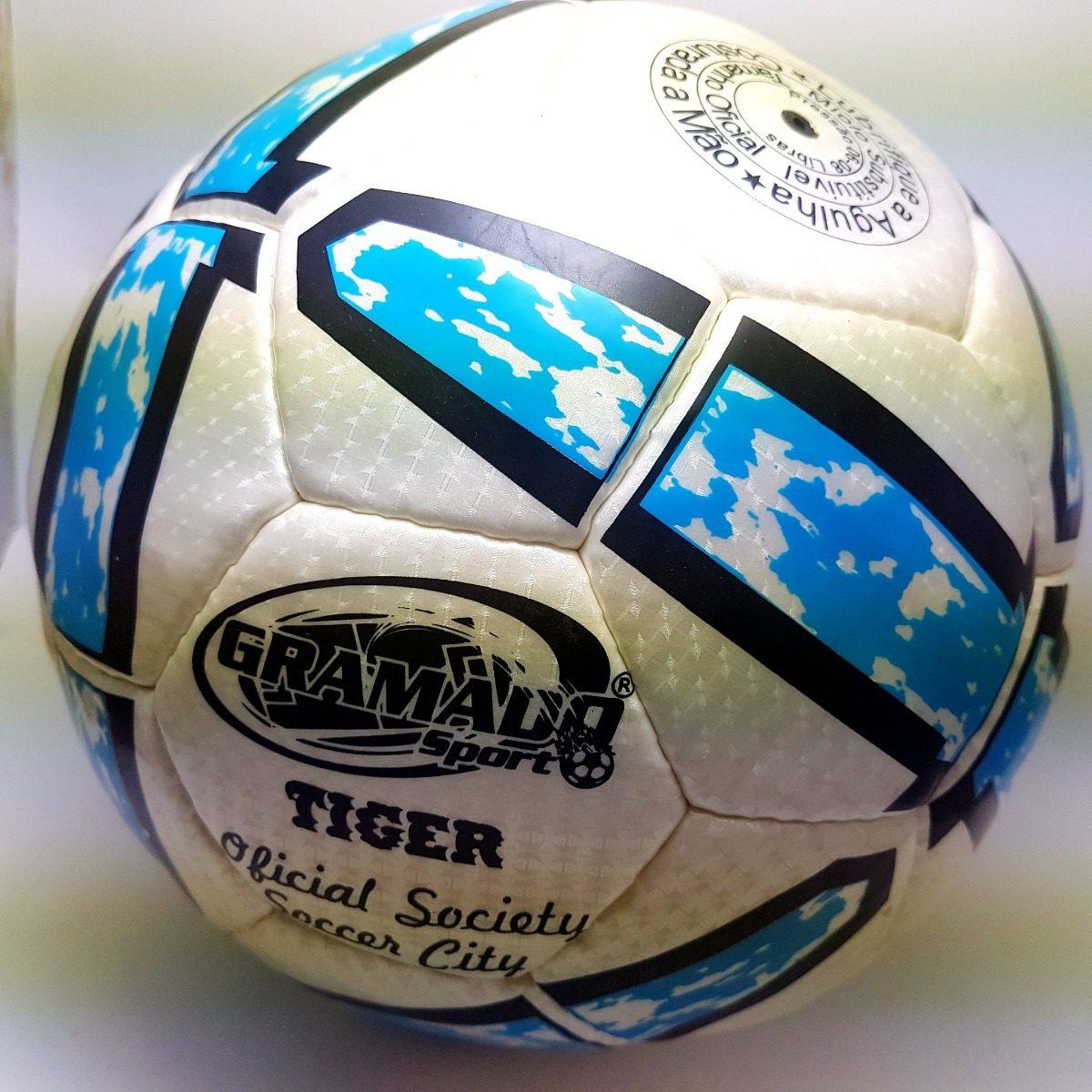 bola gramado sport oficial society tiger black friday. Carregando zoom. e9b5e38b7662c