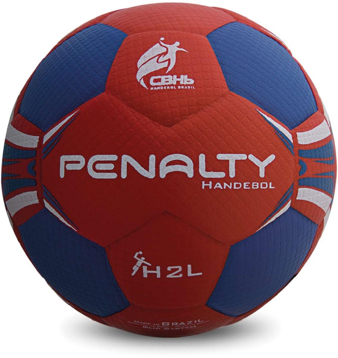 68056bff80 Bola De Handebol Hand Grip H2l Fem. S c Az-vm Penalty Un - R  158