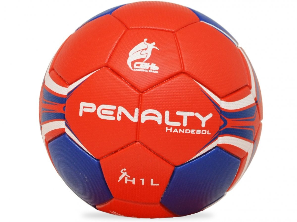 d93973e388a12 Bola Handebol Oficial H1 Penalty Costurada Infantil Ml - R  89