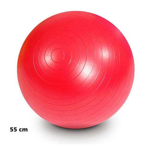 bola inflável 55cm para yoga pilates ginástica exercícios