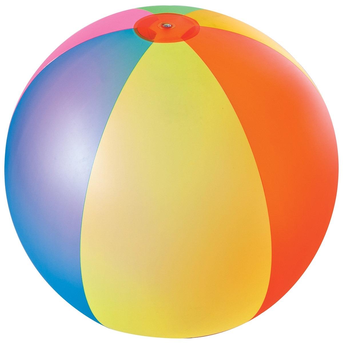 Bola infl vel gigante colorida para praia e piscina mor for Bolas para piscina de bolas