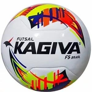 Bola Kagiva Futsal F5 Brasil Pró Oficial Liga Nacional - R  149 8e55e31217f93