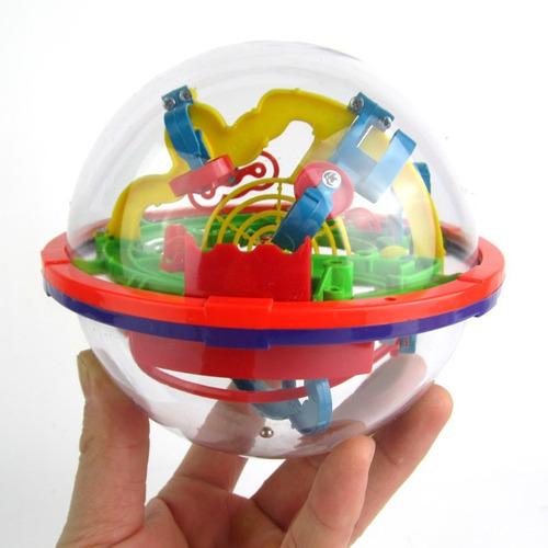 bola laberinto 3d magical addict 118 niveles esfera 49cm mnr