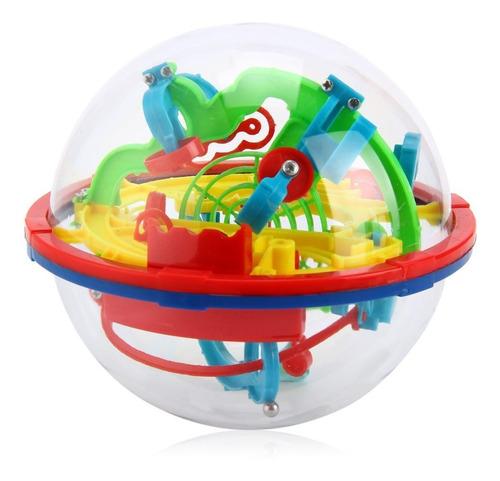 bola laberinto 3d magical ball 100 niveles 12 cm rubik