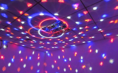 bola led audioritmica reproduce sonido 6 colores rgb esfera