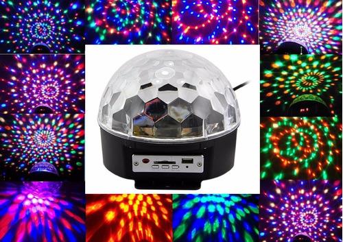 bola led audioritmica reproduce sonido rgb esfera