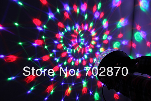 bola led con lector usb sd luz + musica dj incluye pendrive!
