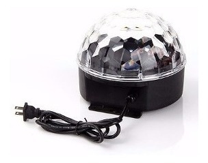 bola led esfera magic ball 6 colores fiesta dj macrolite