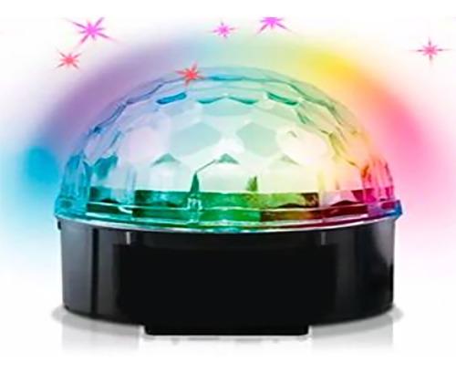 bola led esfera rgb giratoria varios colores a pila